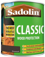 Sadolin Classic Wood Protection Wood Stain Rosewood 1 Litre