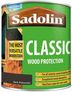 Sadolin Classic Wood Protection Wood Stain Ebony 2.5 Litre