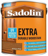 Sadolin Extra Wood Protection Wood Stain Antique Pine 1 Litre