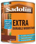Sadolin Extra Wood Protection Wood Stain Mahogany 1 Litre