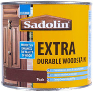 Sadolin Extra Wood Protection Wood Stain Teak 2.5 Litre