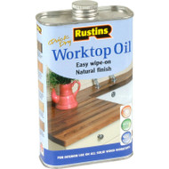 1lt Rustins Solvent Based Worktop Oil RUSWTO1L