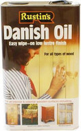 1lt Rustins Danish Oil for Interior and Exterior Wood