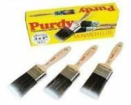 """Purdy Monarch Elite Synthetic Bristle Paint Brush Set 3 x 2"""""""