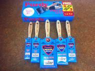"Purdy Pro Extra 5 Piece Synthetic Paint Brush Set 1x1"",2x1.5"",1x2"", 1x3"""