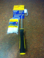 """Purdy White Dove Mini Radiator Paint Roller System + 3 x 13mm Refills 3/8"""" Nap"""