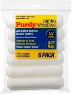 "4.5"" Purdy Mini Jumbo White Dove Rollers 3/8"" nap 6 pack"