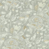 112166 - Momentum 6 Butterfly Wings Titanium Oyster Harlequin Wallpaper