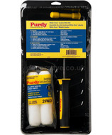 "Purdy 6.5"" White Dove Jumbo Mini Paint Roller Kit 14C810700"