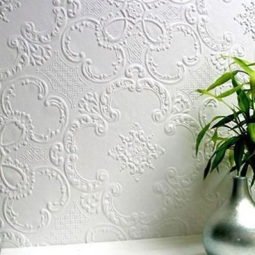 RD335 Anaglypta Paintable Textured Wallcovering Wallpaper Dryden