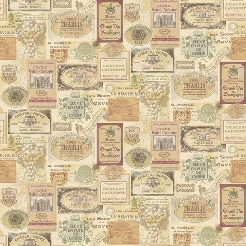 G12285 Kitchen Recipes Olde Menus Beige Galerie Wallpaper