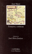 Ensayos y crónicas - Essays and Chronicles