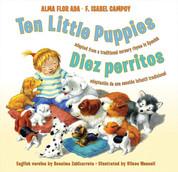 Ten Little Puppies/Diez perritos