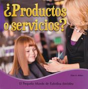¿Productos o servicios? - Goods or Services?