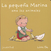 La pequena Marina ama los animales - Little Marina Love Animals