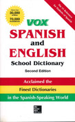 Vox Spanish/English School Dictionary