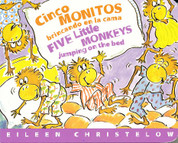 Cinco monitos brincando en la cama/Five Little Monkeys Jumping on the Bed