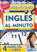 Inglés al minuto Audio Pack - English in a Minute Audio CD Pack