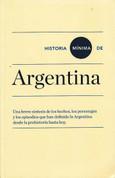 Historia mínima de Argentina - Brief History of Argentina