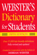 Webster's Dictionary for Students Fifth Edition