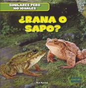¿Rana o sapo? - Frog or Toad?