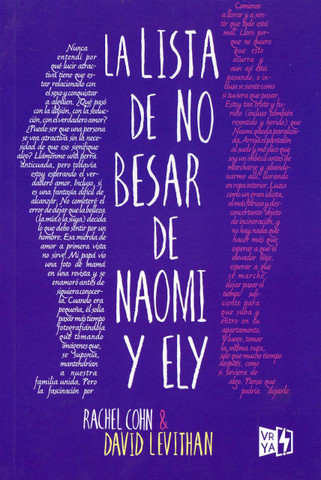 La lista de no besar de Naomi y Ely - Naomi and Ely's No Kiss List