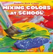 Mixing Colors at School