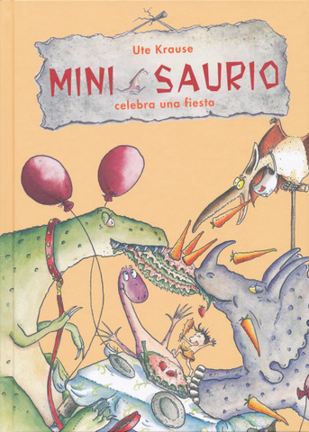 Mini Saurio celebra una fiesta - Mini Throws a Party