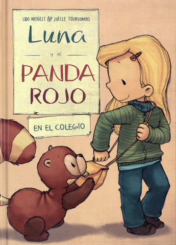 Luna y el panda rojo en el colegio - Luna and the Red Panda at School