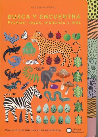 Busca y encuentra formas, rayas, manchas y más - Pattern-Tastic Treasure Hunt