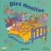 Diez monitos saltaban en la cama - Ten Little Monkeys