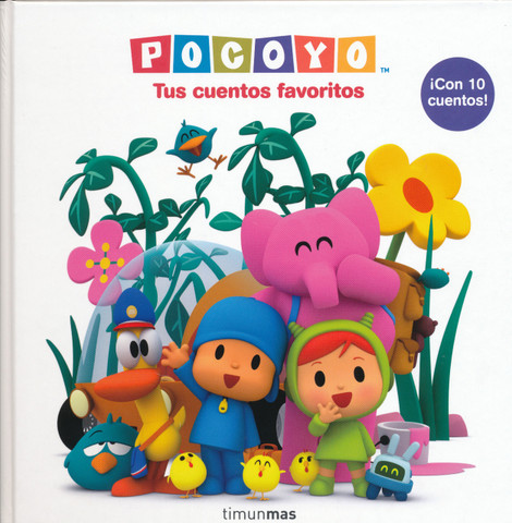 Pocoyó Tus cuentos favoritos - Your Favorite Pocoyo Stories