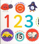 Gira la rueda y aprende los números 1 2 3 - Turn the Wheel. Touch & Feel. 123