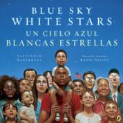 Blue Sky White Stars/Un cielo azul blanca estrellas
