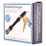 True Utility Mobilecharger-Usb To Micro Usb -Black, Gift Box