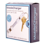 True Utility Mobilecharger- Usb To Micro Usb -White, Gift Box