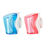 Flipper 2 In 1 Blue & Pink Toothbrush Holder FLR-BS-BL-PN
