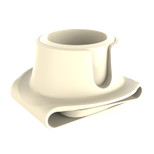 CouchCoaster The ultimate drink holder for your sofa - Cool Cream