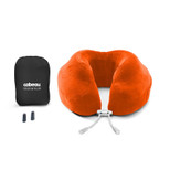 Cabeau Evolution Memory Foam Travel Neck Pillow - Tangerine