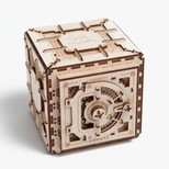 Ugears Safe - 179 Parts - 3D Wooden Puzzle - Mechanical Model