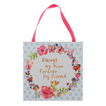 Hanging Plaque - 'Always my Mum Forever My Friend' - Paperwrap - OTH-61853