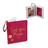 Keyring - 'love you Mum xx' - 4 x 5 cm - Metal - OTH-61858