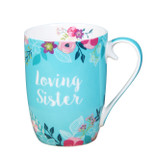 Gift Mug - 'Loving Sister' - 14 Oz - Ceramic - OTH-SP2003