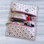 Handmade Cotton Fabric Chic Traveller Wallet for Women - OTH-282