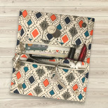 Handmade Cotton Fabric Chic Traveller Wallet for Women - OTH-286