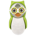 Flipper - Owl Earthy Toothbrush Holder With One Minute Timer - Green - FLR-OWL-ETY