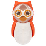 Flipper - Owl Hearty Toothbrush Holder With One Minute Timer - Orange - FLR-OWL-HTY