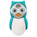 Flipper - Owl Smarty Toothbrush Holder With One Minute Timer - Blue - FLR-OWL-STY