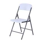 Lifetime Folding Chair, Residential, White Granite Colour, LFT-80615