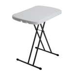 Lifetime 26-Inch Personal Table (Light Commercial) 2 Year Limited Warranty, White Granite Colour, LFT-8354